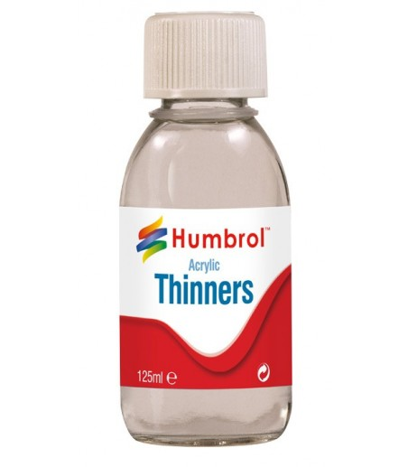 Humbrol Acrylic Thinners 125ml Bottle