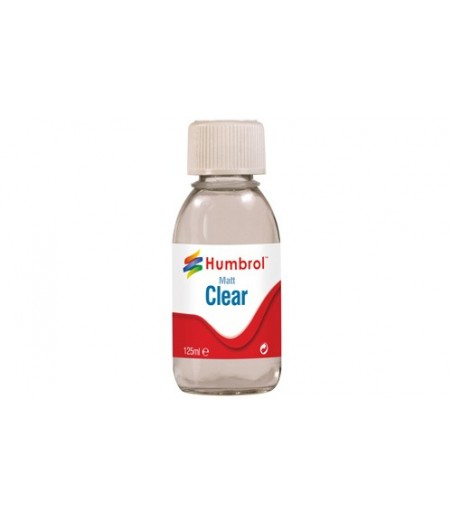 Humbrol Clear - Matt - 125ml