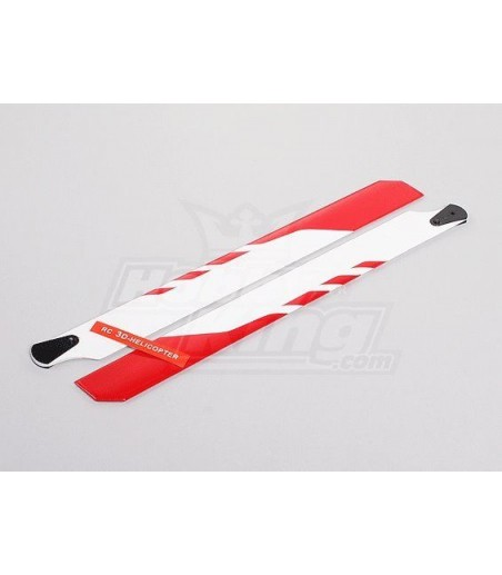 325mm Main Rotor Blade Set  Wooden Helicopter Blades 450 sized