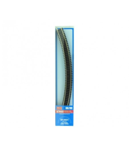 Peco No.3 Radius Double Curve, 505mm (19⅞in) radius OO/HO Gauge ST-2031