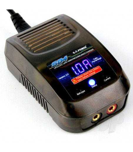 GT Power SD4 20W AC 3A Charger (UK)