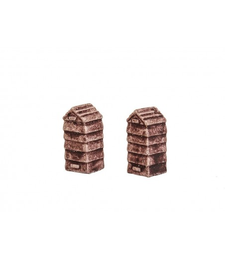 HARBURN HOBBIES Beehives - Classic   (set of 2 ) OO Gauge CG226