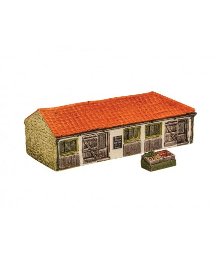 HARBURN HOBBIES Farm Shop with Fruit & Veg Stall OO Gauge CG237