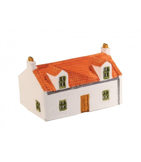 HARBURN HOBBIES N Country Cottage With Dorma Windows (grey roof) N Gauge HN612
