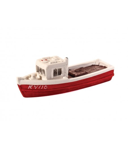 HARBURN HOBBIES Fishing Boat Red N Gauge HN650