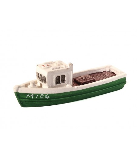 HARBURN HOBBIES Fishing Boat Green N Gauge HN652