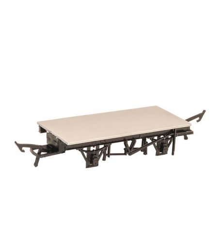 PARKSIDE BR / CH 9ft Unfitted Double Brake OO Gauge PA08