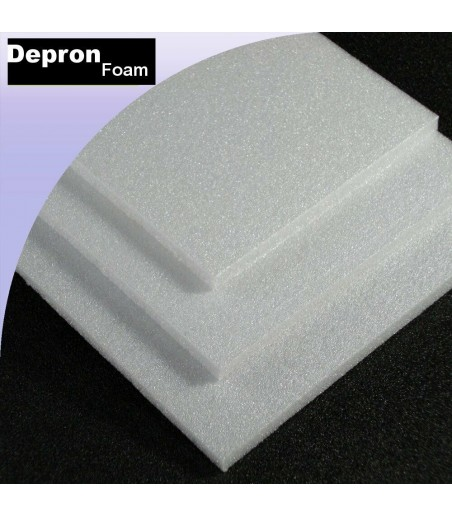 9mm depron white 1 sheet 1000x 700