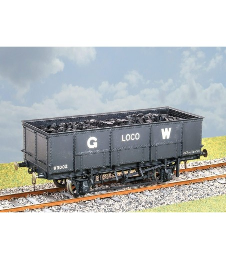 PARKSIDE GWR 20 Ton Loco Coal Wagon 0 Gauge PS47
