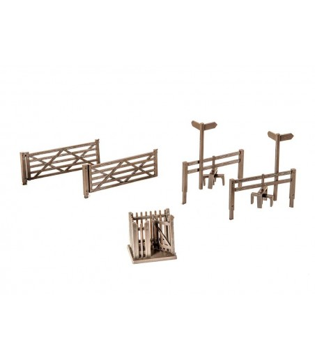 Peco 2 Field Gates, 2 Styles, 1 Wicket Gate OO Gauge LK-86