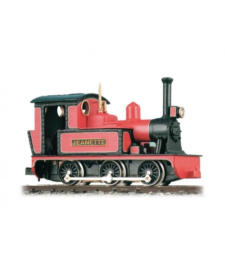 Peco 0-6-0 or 0-4-0 Side Tank, 'Jeanette' OO9 Gauge GL-1