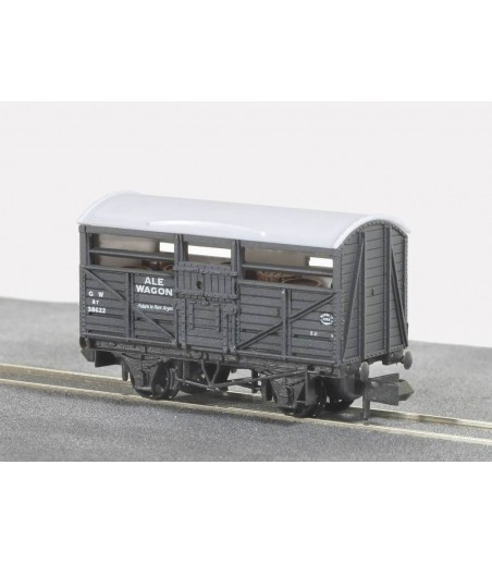 Peco Ale Wagon, GW, grey, No.38622 N Gauge NR-46A