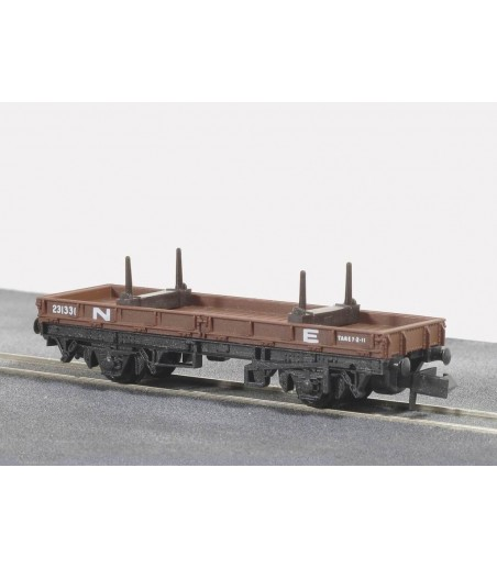 Peco Bolster Wagon, NE, brown N Gauge NR-4E