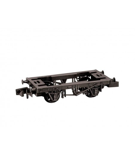 Peco 9ft Wheelbase wooden type solebars Chassis Kit N Gauge NR-119