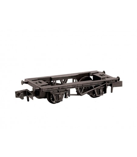 Peco 9ft Wheelbase steel type solebars Chassis Kit N Gauge NR-120