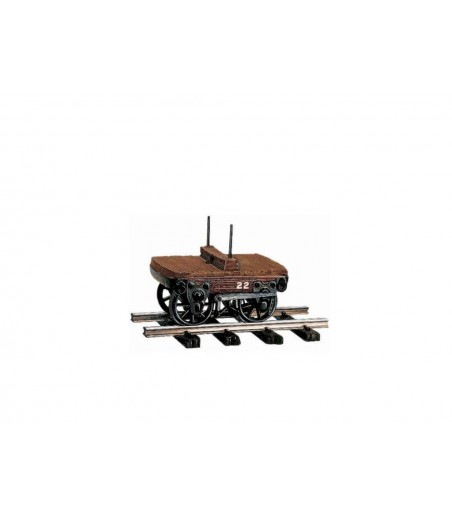 Peco 2ton Bolster Wagon O-16.5 Gauge OR-22