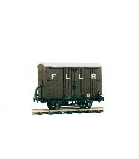 Peco 4 Wheel Box Van O-16.5 Gauge OR-25