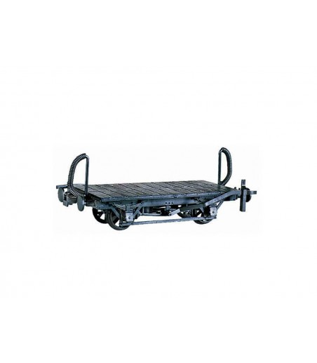 Peco 4 Wheel Wagon Chassis, plastic O-16.5 Gauge OR-40
