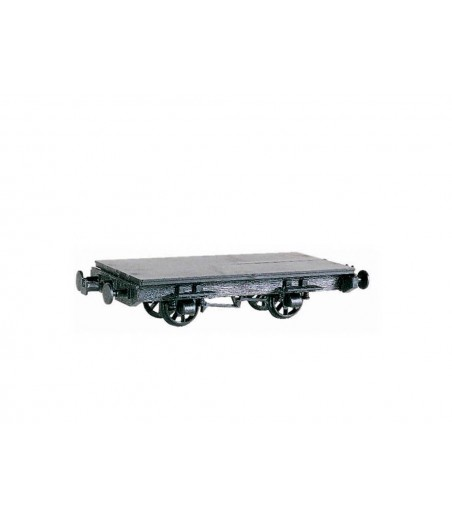 Peco 4 Wheel Coach Chassis, plastic O-16.5 Gauge OR-41