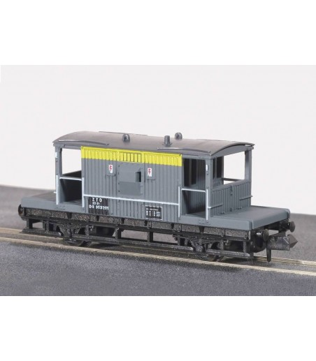 Peco Brake Van BR-CE, yellow/grey N Gauge NR-28C