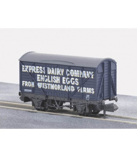 Peco Box Van, Express Dairy English Eggs N Gauge NR-P133