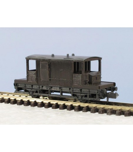 Peco Brake Van, SR type (only available in kit form) N Gauge KNR-29