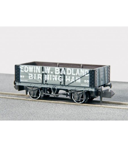 Peco Coal, 5 Plank, Edwin. W. Badleud No 50 N Gauge NR-P444A