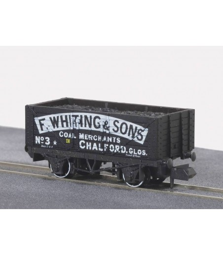 Peco Coal, 7 Plank, F. Whiting & sons, Chalford, Black N Gauge NR-P408