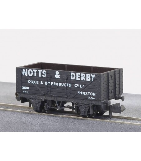 Peco Coal, 7 Plank, Notts & Derby, Black N Gauge NR-P409