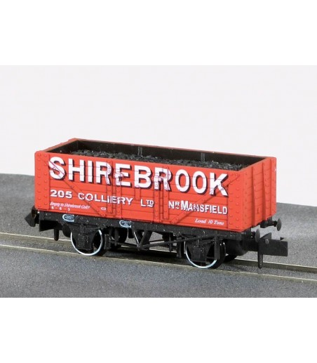 Peco Coal, 7 Plank, Shirebrook Collerie N Gauge NR-P413