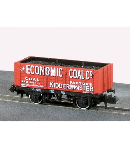 Peco Coal, 7 Plank, The Economic Coal Co N Gauge NR-P414