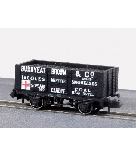 Peco Coal, 7 Plank, Burnyeat Brown & Co N Gauge NR-P415