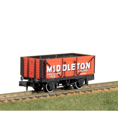 Peco Coal, 7 Plank, Middleton Colliery Leeds No 613 N Gauge NR-P423