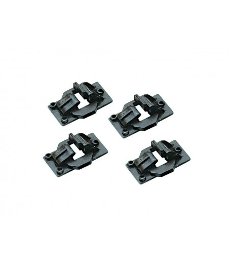 Peco Chairs, Running Rail, for Code 124 rail O Gauge IL-702