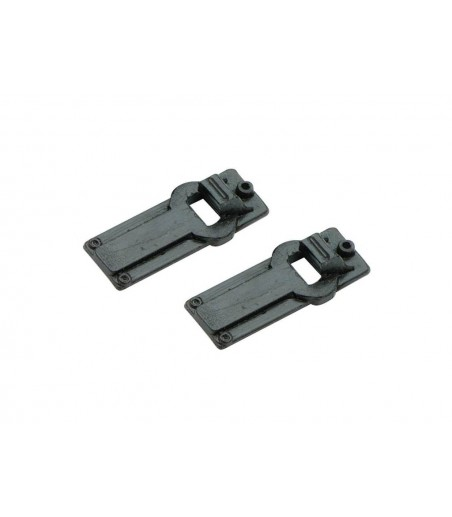 Peco Chairs, Slide Rail, for Code 124 rail O Gauge IL-703