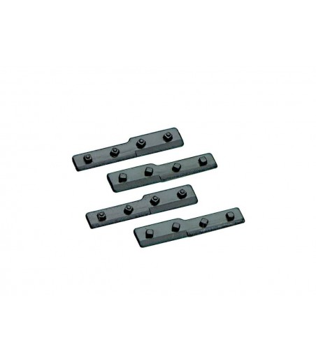 Peco Cosmetic (dummy) fishplates for joining bullhead to flat bottom O Gauge IL-717