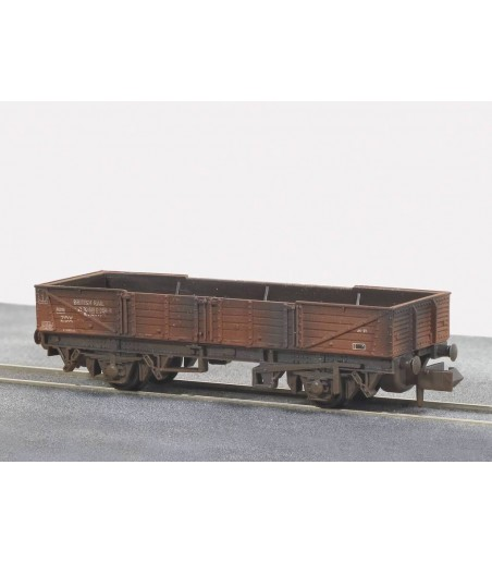 Peco Ferry' Tube Wagon, BR, Bauxite Weathered N Gauge NR-7EW