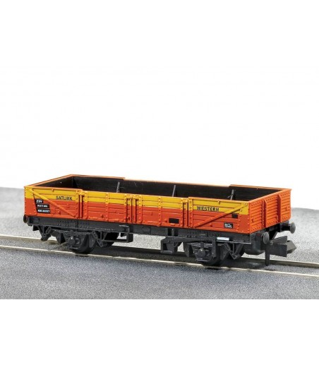 Peco Ferry' Tube Wagon, Satlink, Red/Yellow N Gauge NR-7J