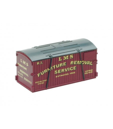 Peco Containers only: Furniture Removals, GWR & LM N Gauge NR-207