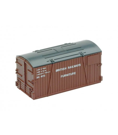 Peco Containers only: Furniture Removals, BR & LEP Dep' N Gauge NR-208