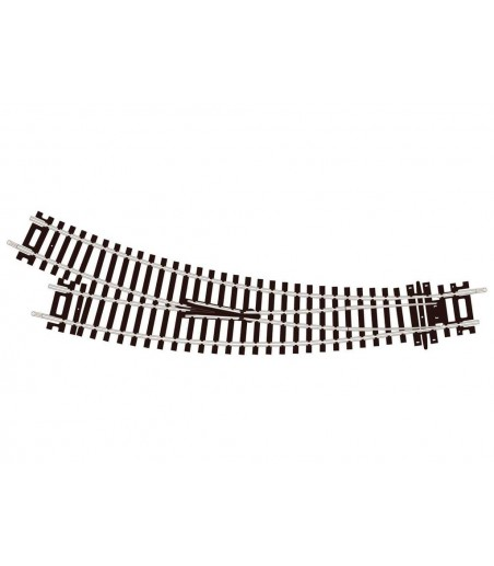 Peco Curved Double Radius, R/H Turnout, Insulfrog  OO/HO Gauge ST-244