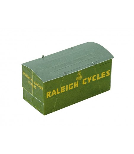 Peco Container, Raleigh, green OO Gauge R-66R