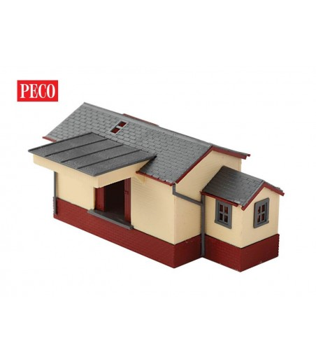 Peco Goods Shed, wooden type N Gauge NB-6