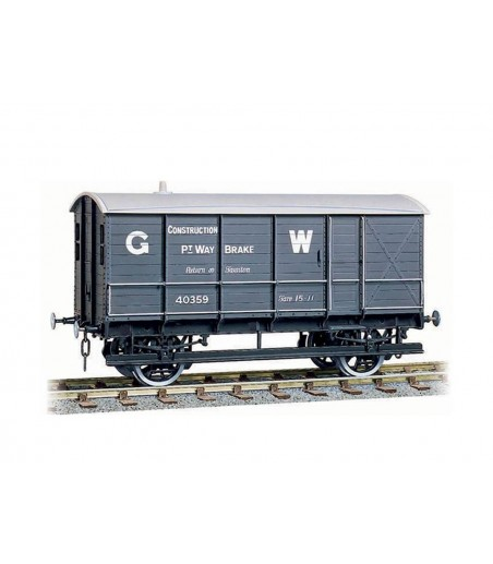 Peco GWR Permanent Way Brake Van O Gauge W-602