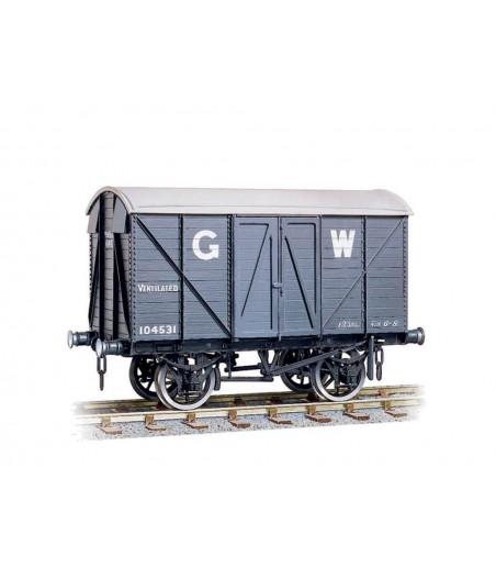 Peco GWR 10ton Ventilated Box Van O Gauge W-606