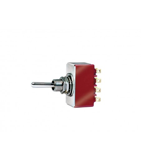 Peco Four Pole Double Throw Toggle Switch (for use with SL-E383F) All Gauges PL-21
