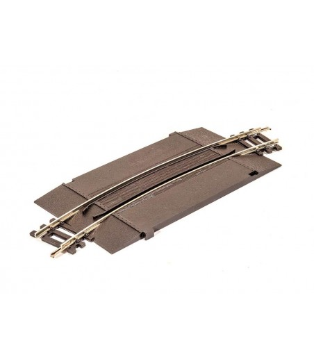 Peco No.2 radius Curved Addon Track Unit for level crossing  OO/HO Gauge ST-269