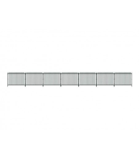 Peco O Gauge GWR Spear Fencing - Straight & Gates  Fencing(890mm)1 Lge 2 sml Gates O Gauge LK-741
