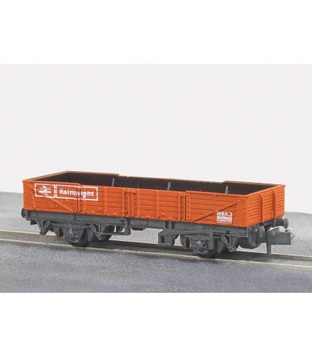 Peco Railfreight Tube Wagon, BR, red N Gauge NR-7R