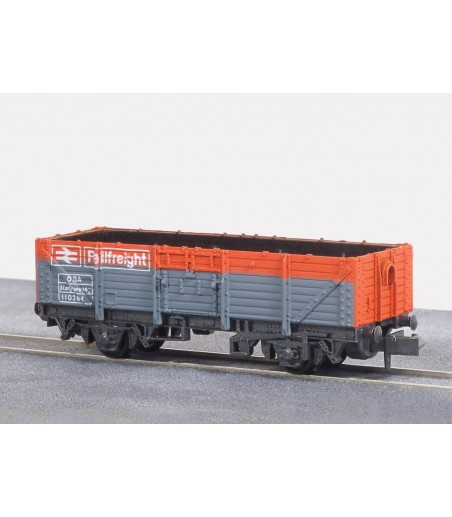 Peco Railfreight Open Wagon, BR, red/grey N Gauge NR-11R